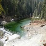 Haa-ak-suuk Creek headpond & Intake