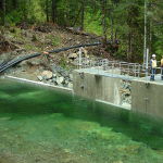 The Intake Site at Canoe Creek Hydro